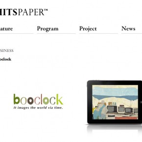 """""""booclock""""がHITSPAPER、iPadiPhonWireに掲載されました。"""