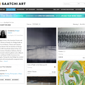 SAATCHI ART, Spotlight on Asia