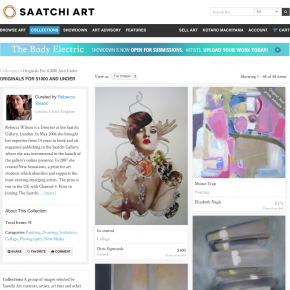 SAATCHI ART, Originals for $1000 and Under