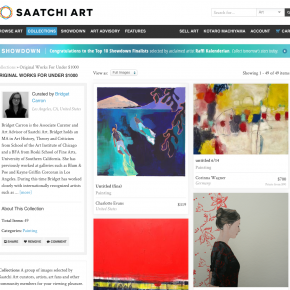 SAATCHI ART, Original Works for Under $1000