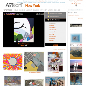 The 4th 2015 Showcase competition on ARTslant