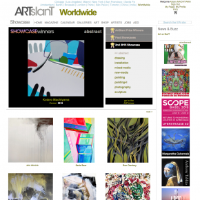 The 2nd 2015 Showcase competition on ARTslant