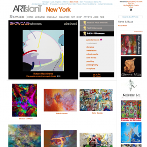 The 3rd 2015 Showcase competition on ARTslant