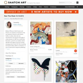 "SAACHI ART ""New This Week"""